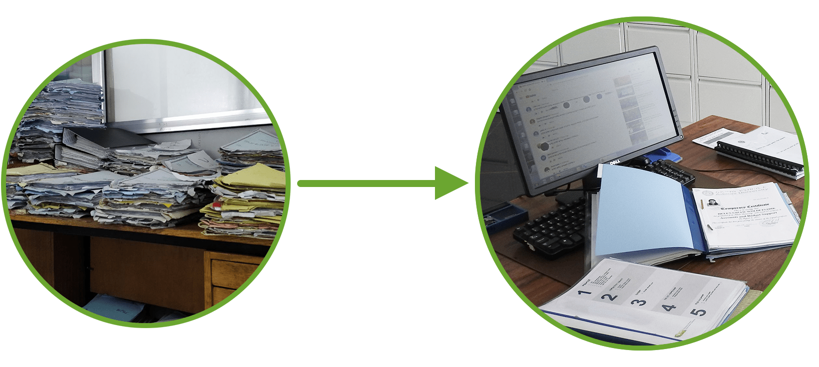Introduction of digital personnel files